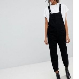 Selected Femme black denim jumpsuit 36 6